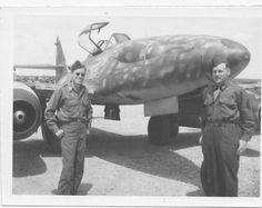 """Me262A-1a/U3 - W.Nr. 500453 - Tactical Number White Outline 25/""""Connie the Sharp Article""""/""""Pick II""""/US control number 444/FE-4012/T-2-4012."""