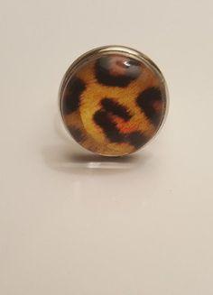 À vendre sur #vintedfrance ! http://www.vinted.fr/accessoires/bagues/29753232-bague-leopard-reglable-chic-glamour