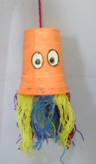 kids craft directory: Colourful jellyfish