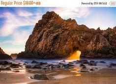 California Sunset Beach Print Big Sur Photo by SusanTaylorPhoto