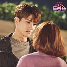 Hyung sik and park bo young strong woman do bong soon drama ❤❤