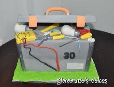 giovanna's cakes: Electrician's tool box cake