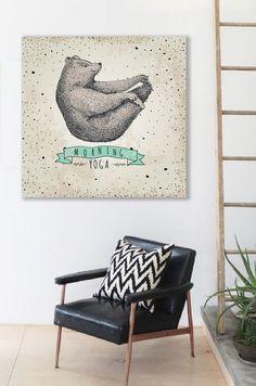 Wanddeko - Bild auf Leinwand - ein Designerstück von Ortons bei DaWanda Entryway Bench, Designer, Etsy, Furniture, Home Decor, Wall Canvas, Entry Bench, Hall Bench, Decoration Home