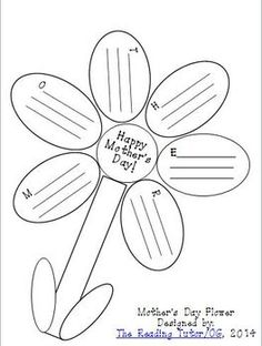 Mother's Day: These printable worksheets would make a great gift for mom on Mother's Day! In