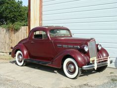 37 Packard 120 business coupe 8cyl