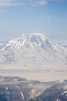 Mt. Griggs volcano, Valley of 10000 Smokes, Aleutian chain Katmai National Park, Alaska
