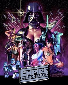 The Empire Strips Back!