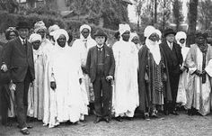 The sell out of all the people in the so called Nigeria 1934 | Lord Lugard meeting with Nigerian Emirs and Chiefs at London Zoo | London, UK