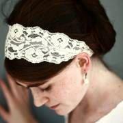 cute lace hair accessary