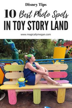Check out the best spots to get Instagram worthy photos in Walt Disney Worlds Toy Story Land! #toystoryland#playbig#waltdisneyworld