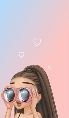 Me spying on my crush be like: Ariana Grande Fotos, Ariana Grande Anime, Ariana Grande Tumblr, Ariana Grande Drawings, Emoji Wallpaper, Cute Wallpaper Backgrounds, Girl Wallpaper, Cute Wallpapers, Ariana Grande Background