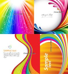 Festive colored background vector map download | Vector concept
