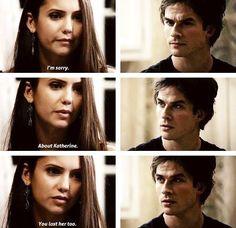Damon and Elena S1