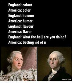 Hamilton and King George Really Funny Memes, Stupid Funny Memes, Funny Relatable Memes, Haha Funny, Hilarious, Funny Stuff, Hamilton Musical, History Jokes, History Facts