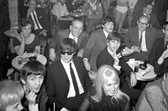 The Beatles visit The Peppermint Lounge on their first night in the United States on February 7, 1964 in New York City