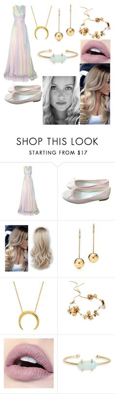 """""""041"""" by t-d-y ❤ liked on Polyvore featuring Zuhair Murad, Repetto, Twigs & Honey and Treasure & Bond"""