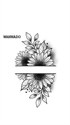 cotton pad tattoo feminina - tattoo feminina delicada - BRAC feminina tattoo - tattoo feminina costela - but tattoo feminina - tattoo feminina diferente - tattoo feminina OMBR crib Sunflower Tattoos, Sunflower Tattoo Design, Sunflower Drawing, Floral Mandala Tattoo, Sunflower Mandala Tattoo, Simple Mandala Tattoo, Sunflower Tattoo Sleeve, Sunflower Art, Kunst Tattoos