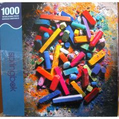 Springbok 1000 piece Puzzle, CHALK IT UP! Listing in the 1000 Pieces,Jigsaws,Jigsaws & Puzzles,Toys & Hobbies Category on eBid United States | 137995046