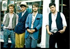 Mumford and Sons.  Unique sounds.  They took a couple genres and mixed 'em up with smashing results.