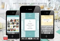 Wedding App for your iphone! Love!