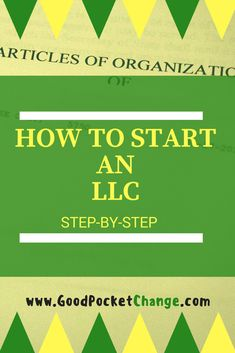 I created an easy step by step guide to walk you through starting and creating an LLC for your business. Enjoy!