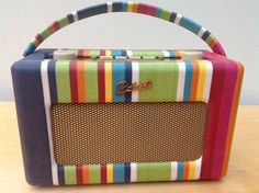 Roberts Revival DAB Radio RD60 in Stripes by RevivedRadios on Etsy