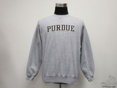 Nike Purdue University Boilermakers Crewneck Sweatshirt sz S Small SEWN NCAA #Nike #PurdueBoilermakers