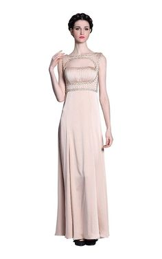 Hollow Out Long Formal Evening Bride Dress Chiffon Mother of the Bride Dress >>> To view further, visit now : Mother of the Bride Chiffon Dress, Mother Of The Bride, High Neck Dress, Weddings, Formal, Dresses, Fashion, Chiffon Gown, Mother Bride
