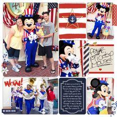 "Disney Digital Scrapbook page by Britt! ""Project Mouse (At Sea): Bundle"" by Sahlin Studio & Britt-ish Designs"