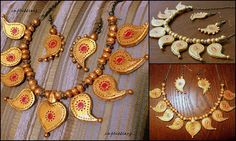 KERALITE ETHNIC WEAR terracotta inspired by ImpressionzJewelry, $38.00