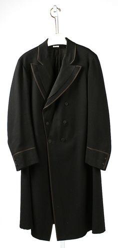 Coat  Date: 1906 Culture: American Medium: wool
