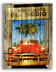 Art Print on Premium Semi-matte Photo Paper. Professional photographers and graphic artists use this highly saturated, high resolution for their images displaye Cuba Pictures, Cuban Party, My Coffee Shop, Frida Art, Cuba Travel, Havana Cuba, Decoupage Paper, Street Art, Images