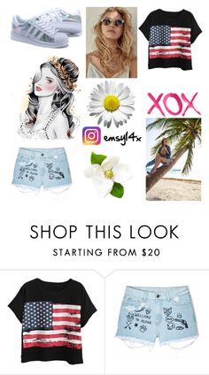 """""""My Summer Style 3 × Summer 2k16 × @emsy14x (instagram)"""" by emsy14 ❤ liked on Polyvore featuring Chicnova Fashion, Aloha From Deer and GALA"""