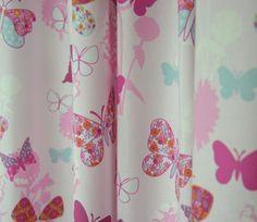 Vrolijke dekbedovertrek voor meisje - met bloemen, vlinders en ...