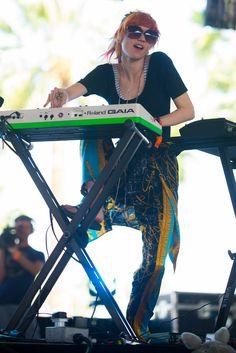 Grimes at Coachella 2013