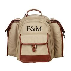 a picnic backpack like this Fortnum and Mason - Piccadilly Picnic Backpack