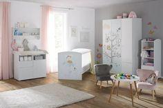 Wickelkommode in Weiß online bestellen Office Desk, Corner Desk, Kids Rugs, Furniture, Home Decor, Drawers, Oak Tree, Corner Table, Desk Office