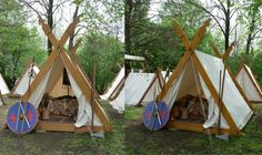 medieval tents by ~two-ladies-stocks on deviantART