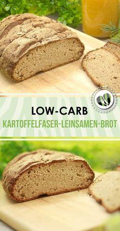 Das low-carb Kartoffelfaser-Leinsamen-Brot ist mein bisher brotigste Bot. Es ist zudem glutenfrei.