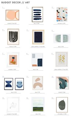 We rounded up all the best rugs, lighting, art, pillows and decor for your living room and bedroom, all with a budget angle. Home Living Room, Living Room Decor, Bedroom Decor, Wall Decor, Living Spaces, Decorating On A Budget, Cool Rugs, Budgeting, Gallery Wall