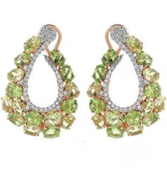 YAEL SONIA PERIDOT JEWELRY | ... Jewellery TRENDS & COLOURS - TRENDS & COLORS: Earrings by Casato