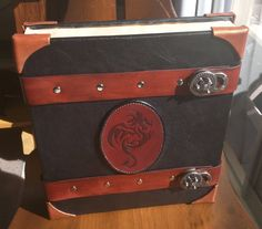 Custom Dungeon Master Toolbox as a Leather-Bound Tome