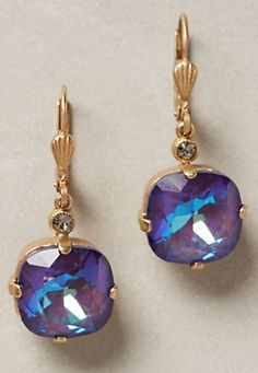 lovely purple earrings #anthrofave  http://rstyle.me/n/r2j8ipdpe