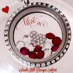 Love is a South Hill Designs Locket