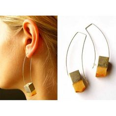 Earrings Amber earrings opaque amber Gift for she matte