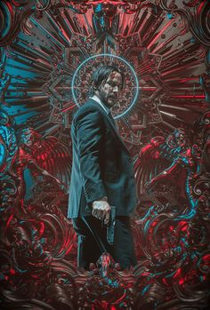 Billelis was approached by Lionsgate, LA Associates and the creative team of John Wick 3 to create official key artworkfor the launch of the latest Blockbuster instalment in the John Wick Franchise- John Wick 3 Parabellum.John Wick has become the target… Cyberpunk, John Wick Film, John Wick 1, Keanu Reeves John Wick, Kunst Poster, Poster Design, Baba Yaga, Alternative Movie Posters, Movie Poster Art