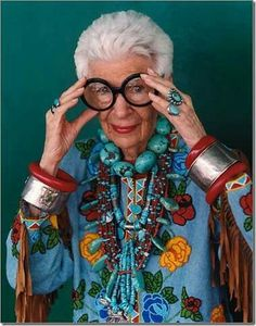Don't wait for old age... be eccentric now. What other people think of you is none of your business.   Don't take yourself so seriously. No one else does! :)