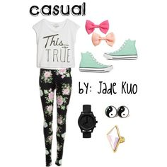 casual :) By: Jade Kuo