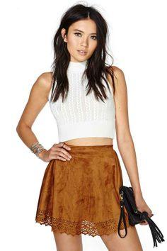 Reverse Make the Cut Skirt