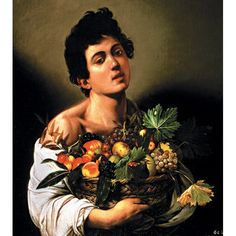 "One of the most famous paintings by Caravaggio, ""Boy with a Basket of Fruit"" suggests that life pleasures of all varieties are fleeting."